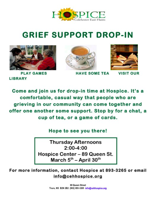 GRIEF SUPPORT DROP-IN